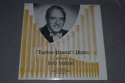Bud Taylor~Taylor Played Pipes~Wurlitzer Theater Pipe Organ~FAST