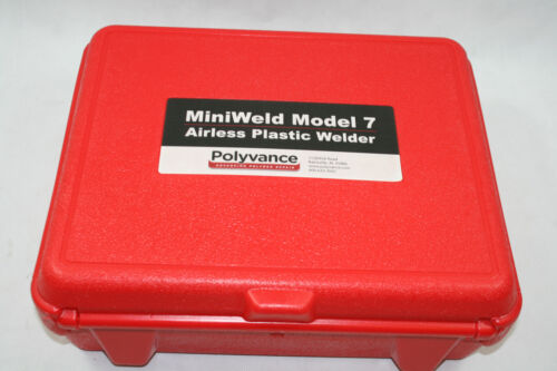 NEW - Polyvance MiniWeld Model 7 Airless Plastic Welder