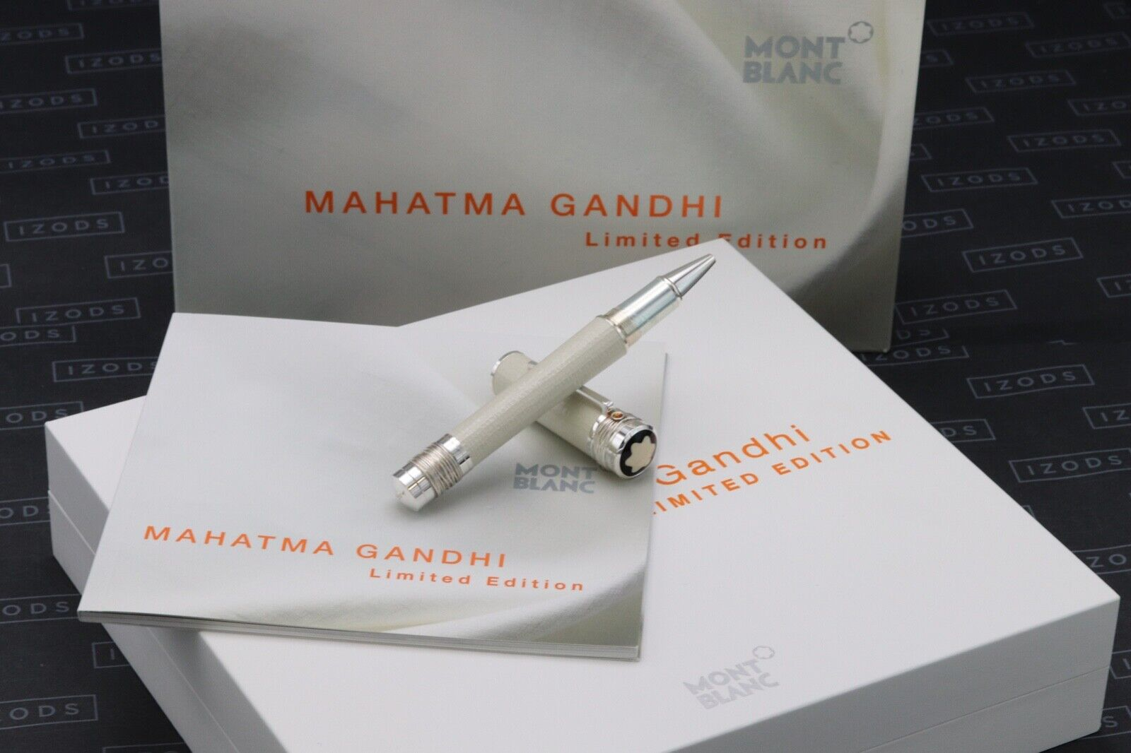 Montblanc Great Characters Mahatma Gandhi Limited Edition Rollerball Pen UNUSED