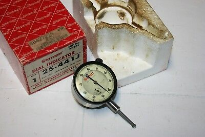 Starrett 25-441j Jeweled Dial Indicator Usa