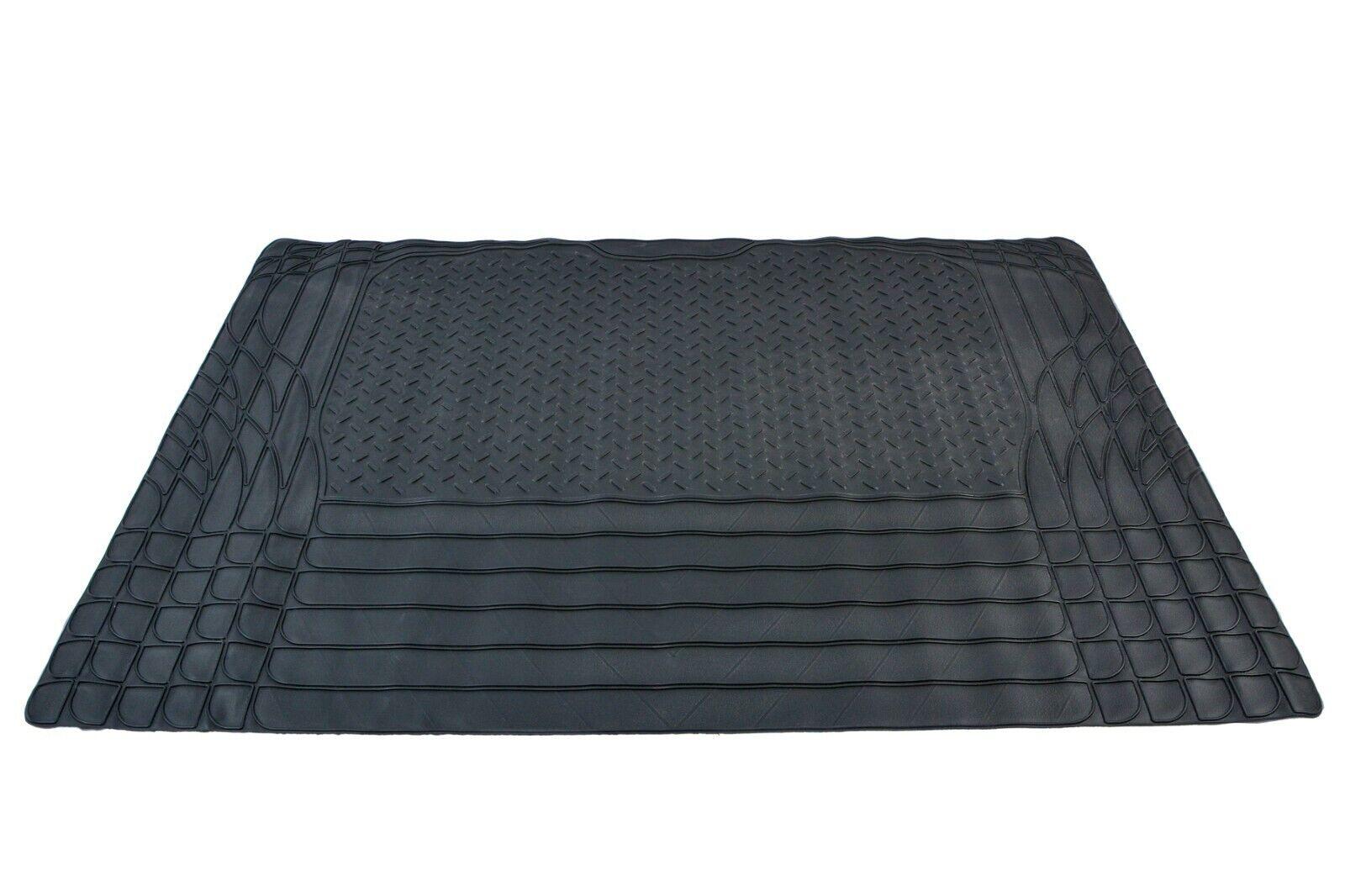 Car Parts - Universal Car Boot Mat Rubber Non Slip Large Lightweight 120 x 80 CM