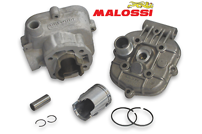 Kit cylindre piston culasse Ø39 MALOSSI G2 MBK 51 refroidissement liquide NEUF