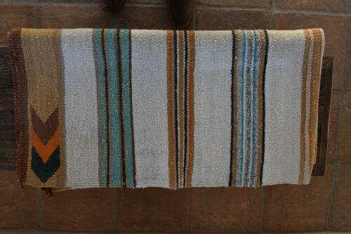 Vintage Western Navajo Saddle Blanket