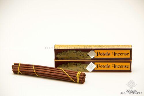 "2 Tibetan 6"" Hand Rolled POTALA INCENSE Stick Natural Meditation Yoga Sage Nepal"