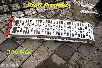 2 Stück Auffahrrampe Alu Rampe antirutsch klappbar 226cm 680kg