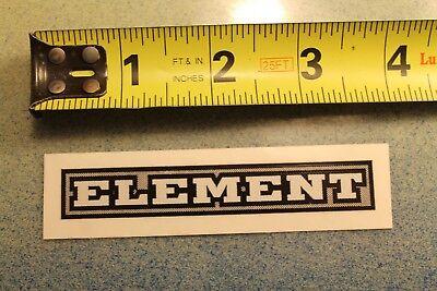 ELEMENT Skateboards Earth Fire Water Wind Tree Vintage Skateboarding STICKER ()