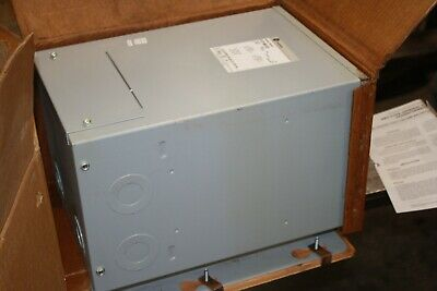 New Ge 15 Kva 1 P Transformer 480240 240120 1 Phase Cat 9t21b9103