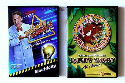 Timon & Pumbaa Safety Smart at Home w/ Bill Nye Safety Smart Science Electricity