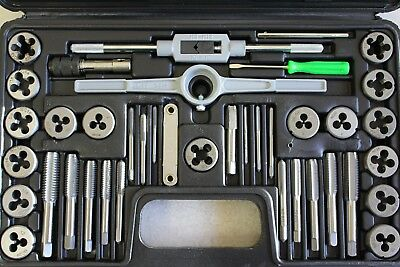 Tap And Die Set 40 Piece Sae 87
