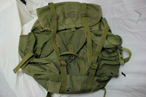 US Military Issue Vietnam Era Tropical Rucksack Backpack LC1 Alice Pack A3