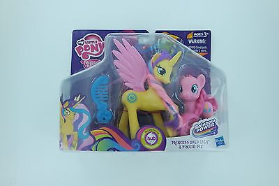 My Little Pony Princess Gold Lily And Pinkie Pie Figures Ages 3+ Friendship