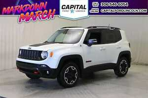 2016 Jeep Renegade Trailhawk 4WD **New Arrival**
