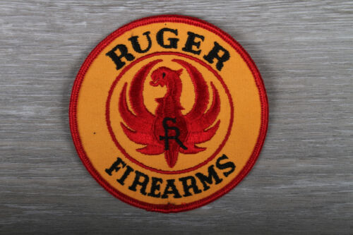 """Ruger Firearms Patch 4"""" Patch. Gun Patch. New. Vintage"""