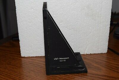 Newport Optical Stage Mount 90-degree Angle Bracket. Part 360-90