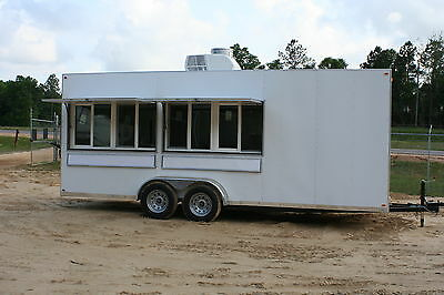 2019 7 X 20 Concession Trailer Mobile Kitchen