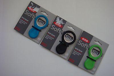 (New OXO Softworks Bottle Opener * Black * Green * Aqua * Red)