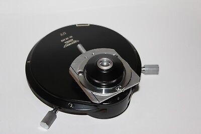 C Reichert Microscope Phase Contrast Zetopan Uv Condenser Mikroskop Pha