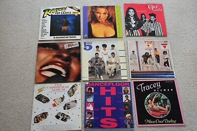 """80 x Records 12"""" and LPs Bulk Job lot 80's/90's Pop BARGAIN incl NOW CHRISTMAS"""