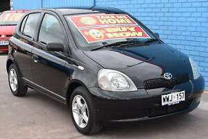 2001 Toyota Echo NCP10R Hatchback 5dr Auto 4sp 1.3i Enfield Port Adelaide Area Preview