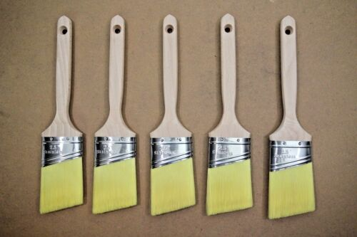 """(x5) 2.5"""" Rembrandt Professional  Quality All Paint Brush 6420ZC - Lot Of 5"""