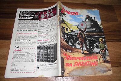 LANDSER 21 -- HUSARENSTREICH v. SHIRATINO / Wehrmacht 1944 Original-Druck 1960er