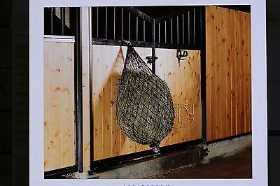 Hay Chix Slow Feed (Half Bale) Hay Net -NEW ROPE COLORS- Best - Rope Hay Net
