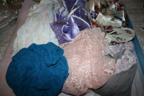 Lot Of 6 Vintage Gown Lingerie Cotton Nightgowns