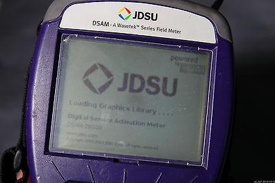 Viavi Jdsu Dsam-2600b Catv Digital Service Activation Meter Docsis 1.1 Tester