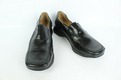 Mocassin KALIBO Black Leather T 39 / UK 5.5 VERY GOOD CONDITION
