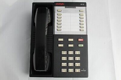Fully Refurbished Avaya Lucent 8110 Blk 12 Button Business Office Phone