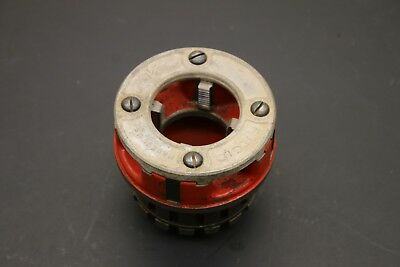 Ridgid 1-12 Npt 12r Pipe Threading Die Head Hand Ratchet Power Pony Threader B