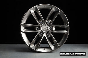 Lexus GX460 (2012-2018) F-Sport WHEELS SET w/ FSport Install Kit OEM PTR56-60120