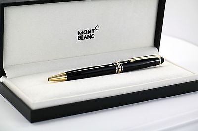 NIB Montblanc Meisterstuck Nr. 164 Classique Ballpoint Pen,  with Gold Trim
