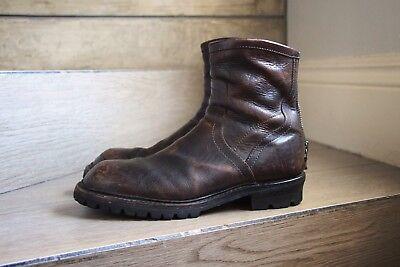 Julius 7 Distressed Boots Japan Size 1 ( 10 US) Saberi Owens Guidi