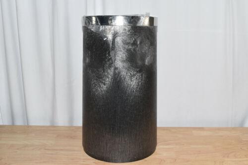 Smoking Trash Can Cigarette Ashtray Butt Receptacle Standing Disposal Black Bin