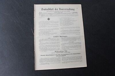 1916 Zentralblatt 11 / saale Naumburg