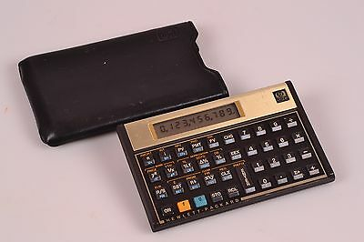 Excellent Hewlett Packard HP 12C Financial Calculator #105 - Free Shipping