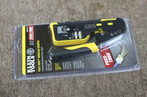NEW Klein Tools Pass Thru Modular Crimper VDV226-110