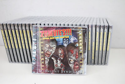 30x Lot Zombies!!! Official Game Halloween Haunted House Scene Soundtrack CD](Game Halloween Music)