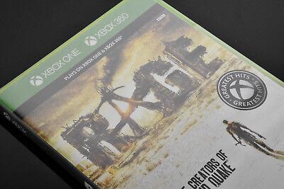 Rage Xbox 360   Xbox One Brand New Factory Sealed