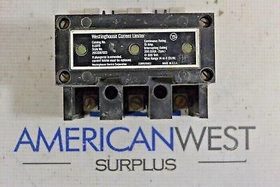 Westinghouse Current Limiter El3015 15 Amp 600 Volt El3015