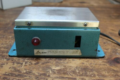 Demagnetizer for Dies, Punches, Cutters or Any Tools, 120 Volt, Vintage, Tested