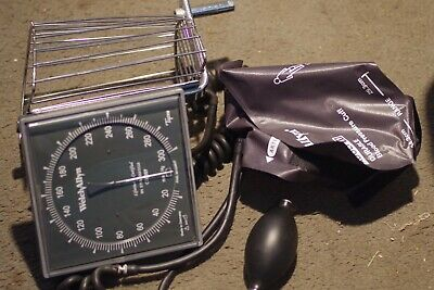 Welch Allyn Tycos Wall Mount Sphygmomanometer Blood Pressure Monitor Cuffs More
