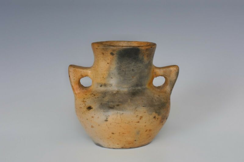 """An Early Antique Native Pottery Vessel """"Cave Dwellers West"""""""