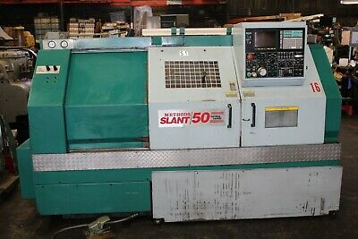 92 Methods Nakamura Slant 50 Cnc Lathe Turning Center