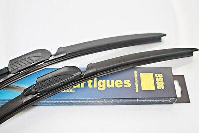1 Paar Scheibenwischer Flachbalkenwischer Seat Altea; Altea XL; Toledo Front