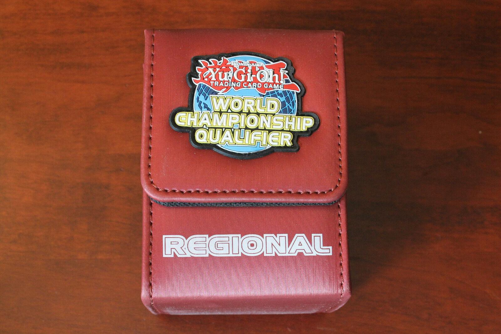 yugioh wcq regional deck box red not