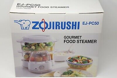 - Zojirushi Gourmet Food Steamer White Steamer EJ-PC50 Rice Cooker 8 Cups