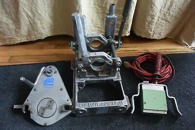 Mcelroy Model 2lc Fusion Machine Welder Set Heater Facer 5