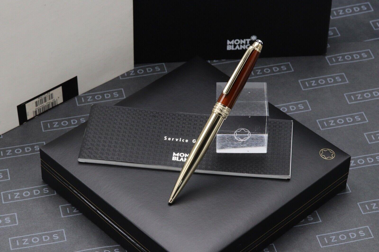 Montblanc Meisterstuck 164 Classique Solitaire Citrine Ballpoint Pen